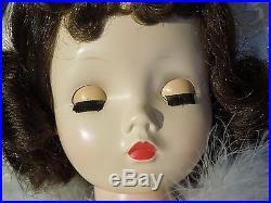 Vintage 50s Madame Alexander brunette 20 Cissy doll. Nude