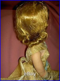 Vintage CISSY, Mme. Alexander 21 tagged Queen Elizabeth doll, (#2281) NICE