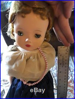 Vintage Large Madame Alexander Doll with Original Clothes