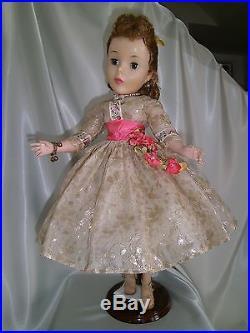 Vintage MADAME ALEXANDER Cissy Shari Lewis 21inch