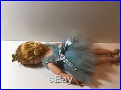 Vintage MME Madame Alexander 15 Doll Articulate Jointed Blonde Ballerina Elise