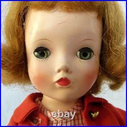 Vintage Madame Alexander 14 Binnie Walker hard plastic doll in original outfit