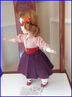 Vintage Madame Alexander 15 Hard Plastic Maggie Teenager Doll