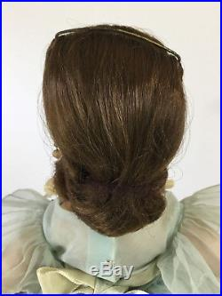 Vintage Madame Alexander 1959 Blue Pleated Bridesmaid Elise Doll