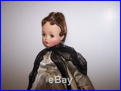 Vintage Madame Alexander 20 Cissy Doll In Original Tagged Theater Date Outfit