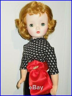 Vintage Madame Alexander 20 Cissy doll in new ensemble