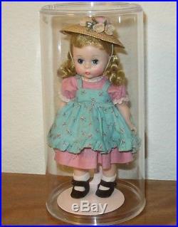 Vintage Madame Alexander 8 Wendy Kins Doll Bent Knees + Walker Pigtails