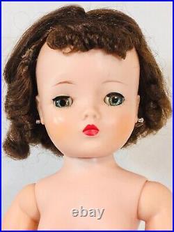 Vintage Madame Alexander Brunette Cissy Doll TLC