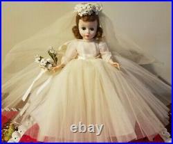 Vintage Madame Alexander Cissette Bride Doll 50s
