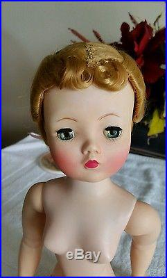 Vintage Madame Alexander Cissy Being sold nude doll only