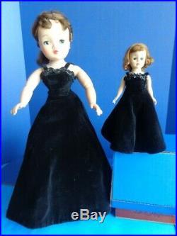 Vintage Madame Alexander Cissy & Cissette Dolls- In Matching Formal Gowns