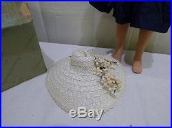Vintage Madame Alexander Cissy Doll 1957 Navy Cocktail Dress Slip #2141
