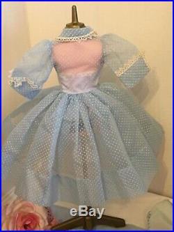 Vintage Madame Alexander Cissy Doll Dress Hat Undies Shoes