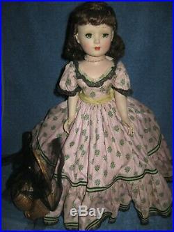 Vintage Madame Alexander Doll Glamour Girl Series Margaret Face 17in Lqqk