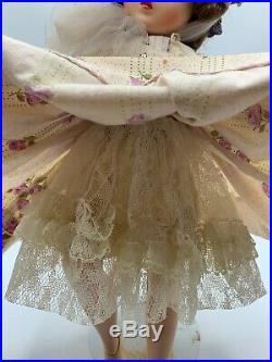 Vintage Madame Alexander ELISE in RARE LAVENDAR Floral Dress