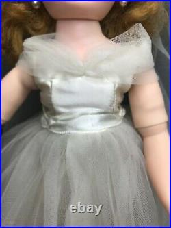 Vintage Madame Alexander Elise Bride Doll 1950s