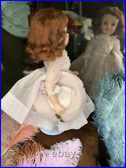 Vintage Madame Alexander High Color Elise Doll In Rare Swiss Pink Sheer #2230