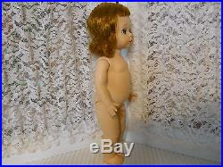 Vintage Madame Alexander Kins Wendy Doll 1953 Strung Red Hair Nude