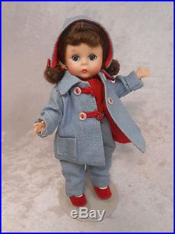 Vintage Madame Alexander Kins Wendy has a Car Coat #371 from 1957