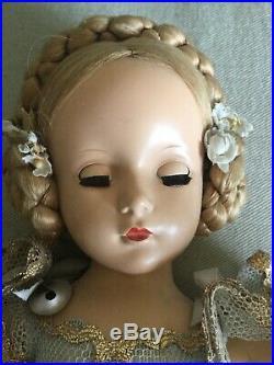 Vintage Madame Alexander Margaret Ballerina Hard Plastic Doll 14