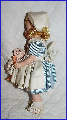 Vintage Madame Alexander NURSE 8 Wendy-kins BKW 1964