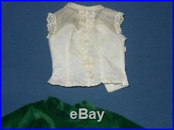 Vintage Madame Alexander Outfit For A Cissy Doll 20 Blouse Tagged + Skirt