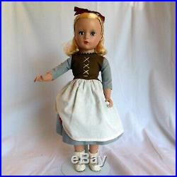 Vintage Madame Alexander Poor Cinderella 14 hard plastic doll circa 1950