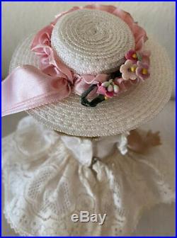 Vintage Madame Alexander Princess Ann Dress + Hat+ Slip + Bkw Doll