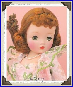 Vintage Madame Alexander Redhead Cissy Models Fabulous Shortie Peignoir Set