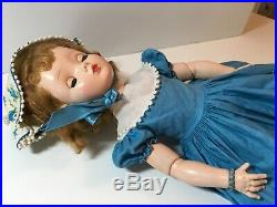 Vintage Madame Alexander Sweet Violet Doll 18