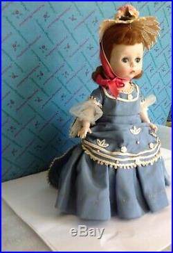 Vintage Madame Alexander VICTORIA, #0030C 1954