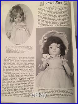 Vintage Madame Alexander Very HTF 1935 BETTY FACE All Original Fabulous