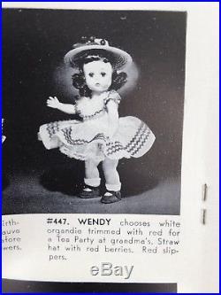 Vintage Madame Alexander presents Alexander-kins, Wendy 1955