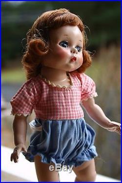 Vintage Madame Alexanderkins Wendy Strung Doll 1953 Tagged All Original Nice