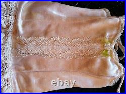 Vintage Rare Madame Alexander Tagged Cissy Pink withLace Trim Chemise