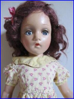 Vintage Wendy Ann Composition 21 Doll Madame Alexander New York MINTY NICE 1936