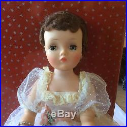 Vintage madame Alexander cissy 20 inch doll GARDEN PARTY