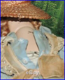 Vtg 1950's Madame Alexander McGuffey 14 Hard Plastic Doll/Tagged BabyMcGuffey