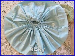 Vtg 1950s Alexander CISSY Tagged Outfit Doll Dress, Hat & Nylons Blue with Lace