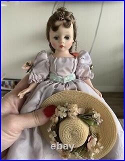 Vtg Madame Alexander Cissette Doll Ballerina Gown Bride Blonde Brown Wendy Lot