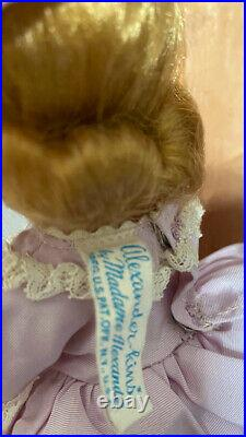 WENDY VISITS AUNTIE. 1955 pretty Madame Alexander-kins doll with her box